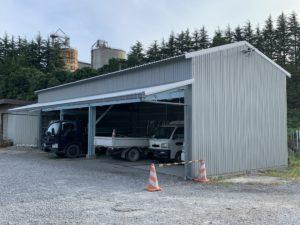 倉庫屋根外壁改修工事