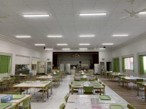 食堂内装改修工事