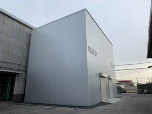 工場内作業場新築工事