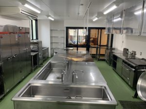 保育園厨房改修工事