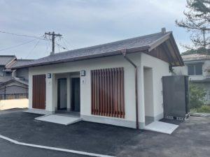 屋外トイレ新築工事