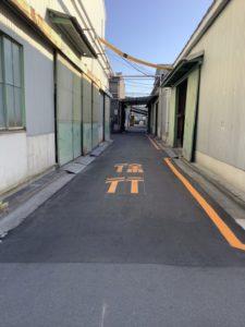 工場内舗装改修工事